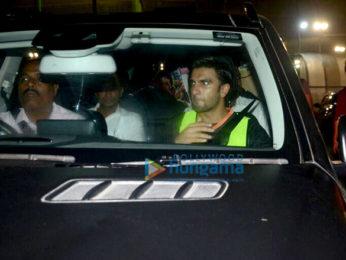 Ranveer Singh snapped at football ground