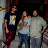 Ranveer Singh snapped post shooting for Gully Boy in Bandra