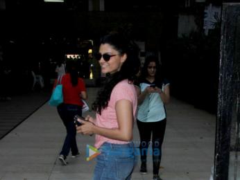 Saiyami Kher spotted in Bandra