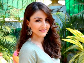 Soha Ali Khan snapped attending Jaypore store launch in Bandra