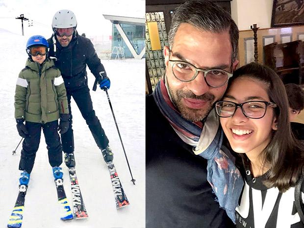 Former couple Karisma Kapoor and Sunjay Kapur come together to celebrate kids' birthdays