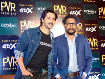 Varun Dhawan graces the song launch from the film October