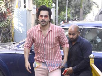 Varun Dhawan snapped in Mumbai
