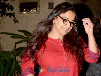 Vidya Balan snapped in Bandra