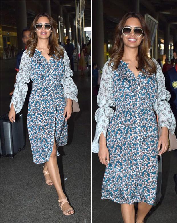 Weekly Airport Style: Esha Gupta