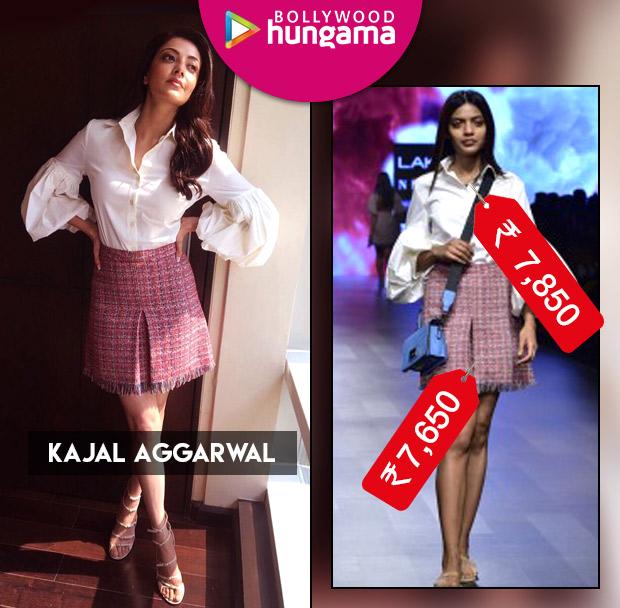 Weekly Celeb Splurges: Kajal Aggarwal in Nishika Lulla separates