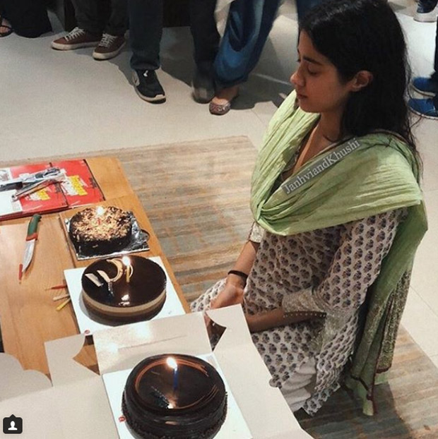 Inside pics and videos: Janhvi Kapoor celebrates her birthday at an orphanage