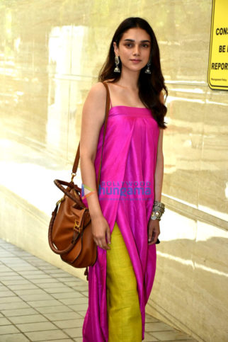 Aditi Rao Hydari, Richa Chadda and others snapped at Daas Dev promotions