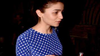 Alia Bhatt spotted at BBlunt in Juhu