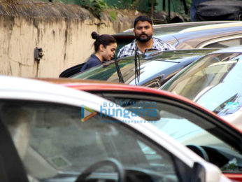 Alia Bhatt spotted at the gym