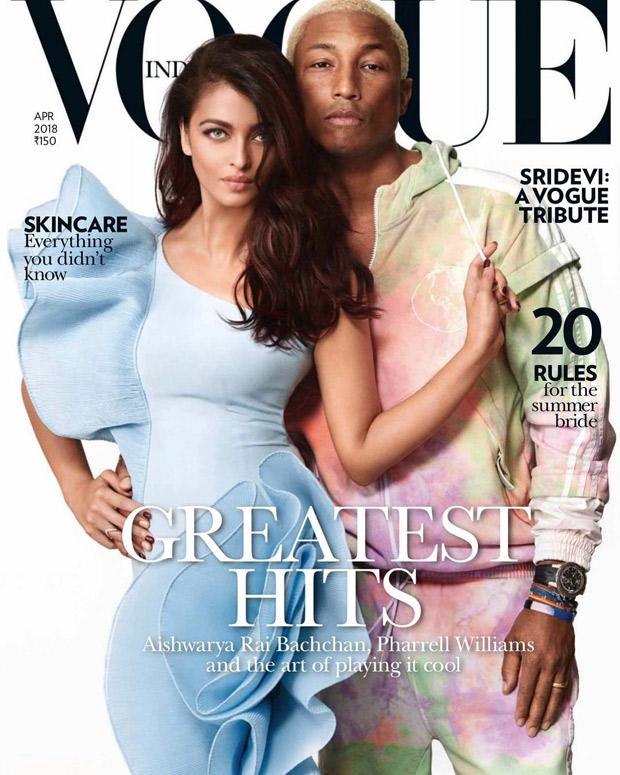 Cover Stars - Aishwarya Rai Bachchan and Pharrell Williams