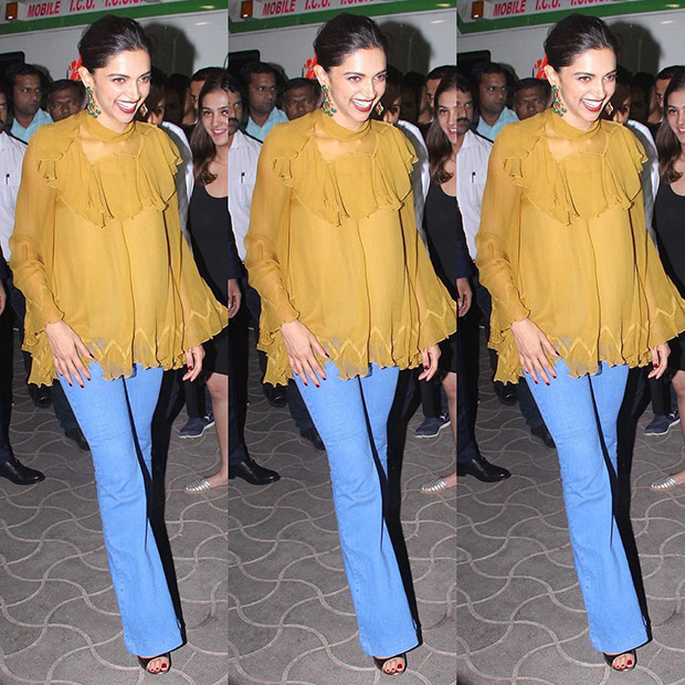 Deepika Padukone's Airport Style is Always on Point