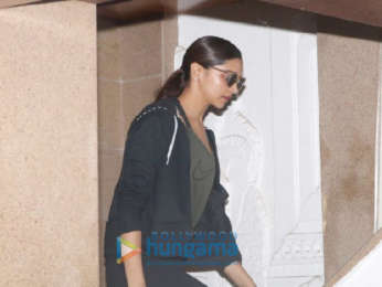 Deepika Padukone spotted at a clinic in Bandra