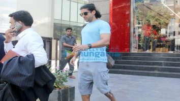 Farhan Akhtar spotted at Khar
