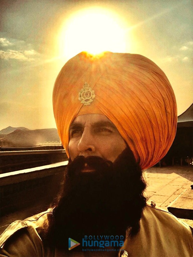 KESARI: Akshay Kumar shines as the courageous Havildar Singh and wishes everyone on the occasion of Baisakhi