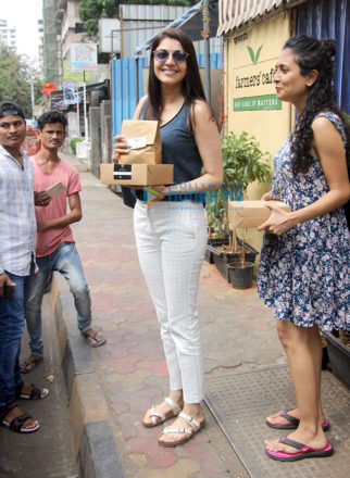 Kajal Aggarwal spotted at Farmers Cafe