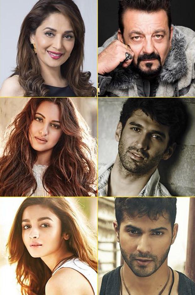 Kalank Karan Johar pulls a casting coup, locks in Sanjay Dutt-Madhuri Dixit, Alia Bhatt- Varun Dhawan!
