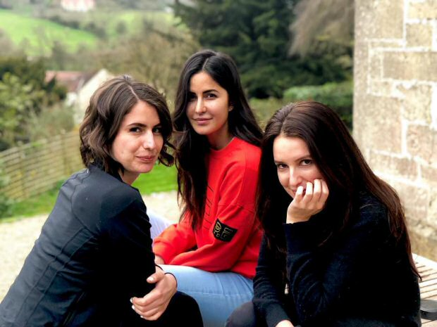 Katrina Kaif takes break from work, spends quality time with family