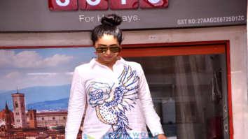 Neha Kakkar snapped in the city