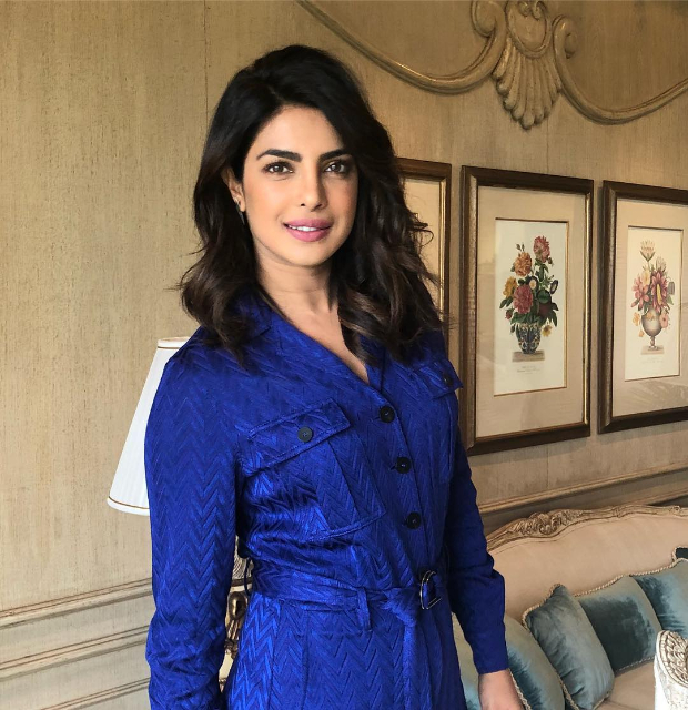 Priyanka Chopra in subtle makeup and loose waves