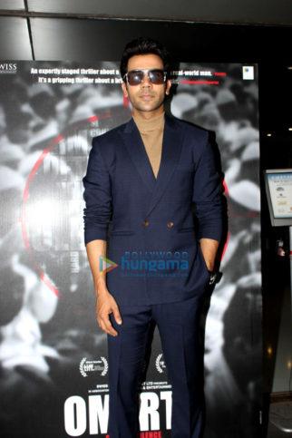 Rajkummar Rao promotes his upcoming film Omerta
