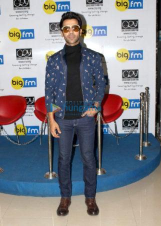 Rajkummar Rao snapped at BIG FM studio in Andheri