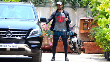 Sidharth Malhotra spotted at gym in Bandra