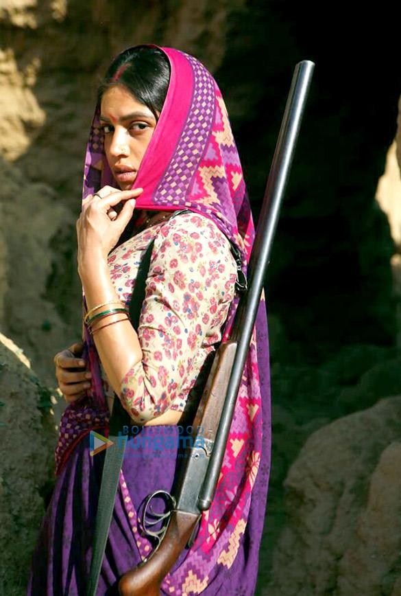 EXCLUSIVE! Bhumi Pednekar's desi BADASS look from Son Chiriya will intrigue you