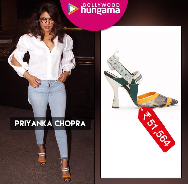 Weekly Celebrity Splurges - Priyanka Chopra in Fendi