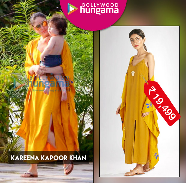 Weekly Celebrity Splurges - Kareena Kapoor Khan dress and jacket