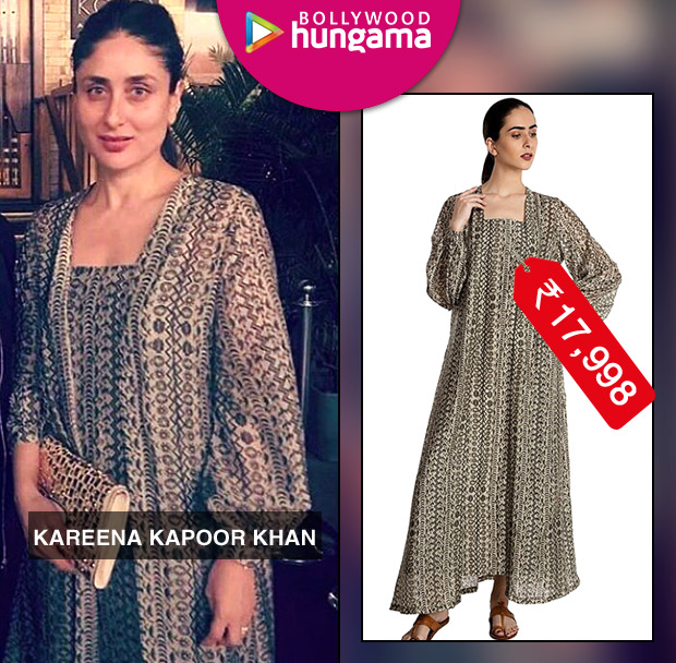 Weekly Celebrity Splurges - Kareena Kapoor Khan in House of Masaba