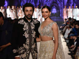 TAMASHA GALORE as Deepika Padukone and Ranbir Kapoor turn showstoppers for Manish Malhotra at Mijwan Fashion Show 2018!