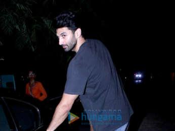 Aditya Roy Kapur spotted at Hakim's Alim in Bandra
