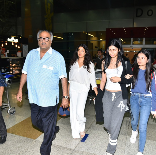 Boney Kapoor to fly to Delhi today with daughters Janhvi and Khushi for Sridevi's National awards