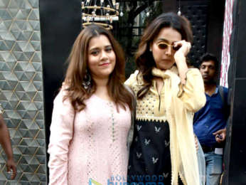 Cast of Veere Di Wedding promote their film on the sets of Naagin 3
