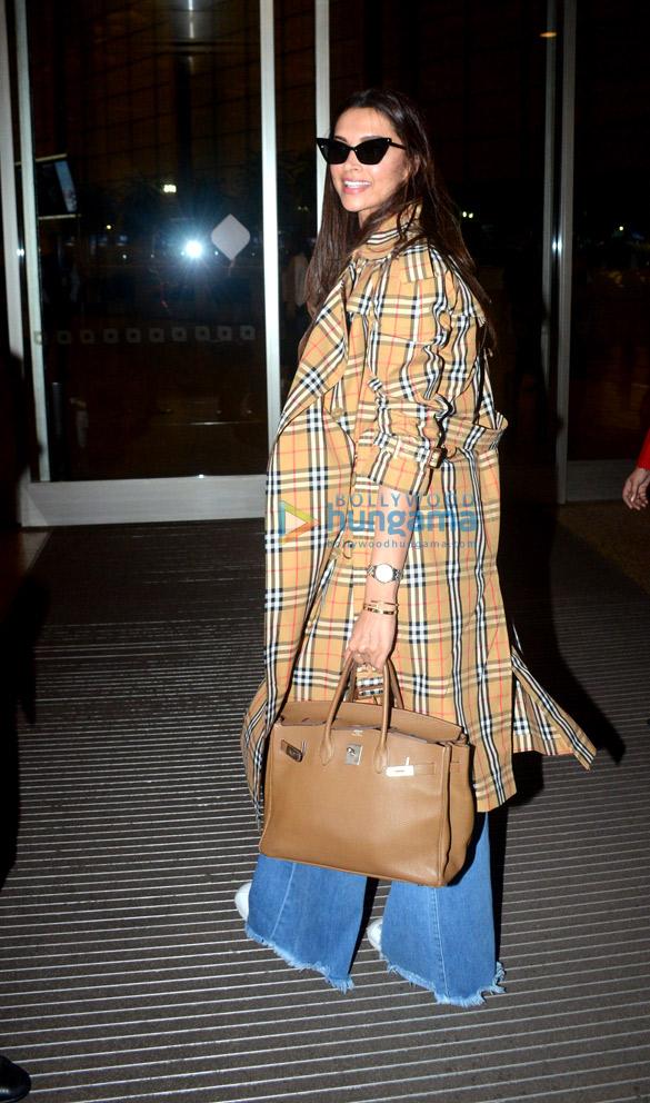 Deepika Padukone, Karan Johar, Shruti Haasan and others snapped at the airport