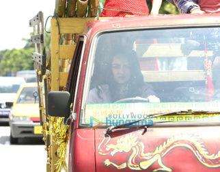 On The Sets Of The Movie Happy Phirr Bhag Jayegi