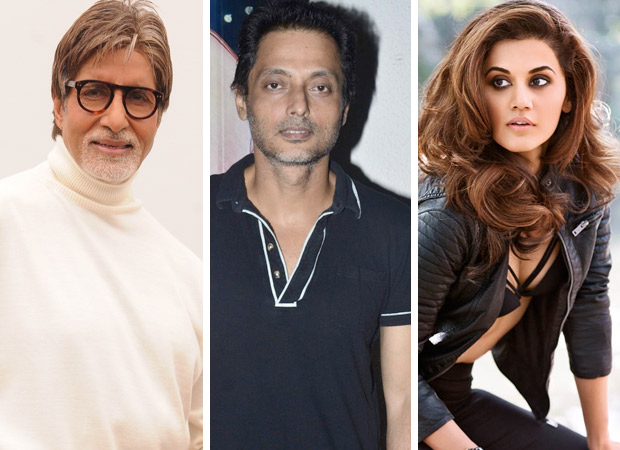 Is Amitabh Bachchan playing an investigative officer in Sujoy Ghosh's next starring Taapsee Pannu?