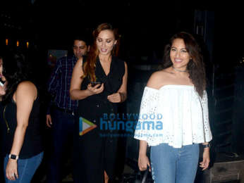 Iulia Vantur, Sonakshi Sinha and others spotted at Yauatcha