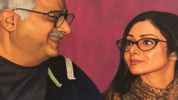 Janhvi Kapoor shares a beautiful image of Boney Kapoor and Sridevi