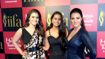 Kajol unveils her wax statue along with her daughter Nysa at Madame Tussauds in Singapore