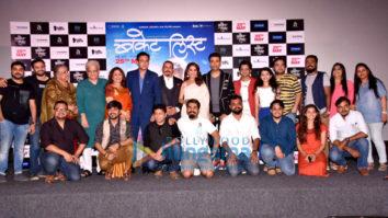 Madhuri Dixit and Karan Johar attend the trailer launch of the film Bucket List