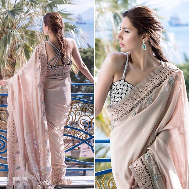 Mahira Khan in Menahel and Mehreen at Cannes 2018