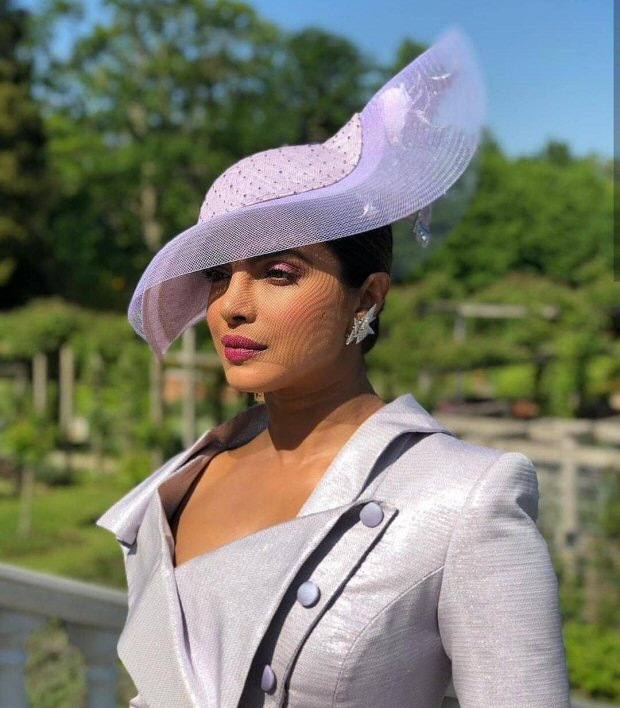 ROYAL WEDDING: Priyanka Chopra arrives in style at the Prince Harry – Meghan Markle Wedding