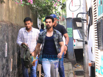 Rajkummar Rao snapped in Mumbai