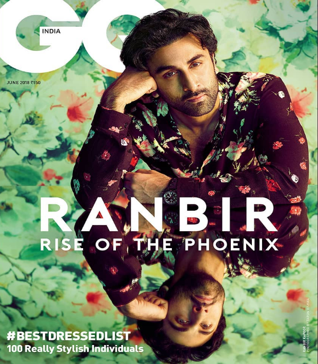 Ranbir Kapoor on the cover of GQ