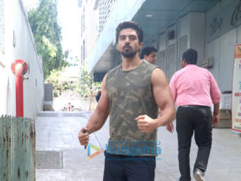 Saqib Saleem snapped in Bandra