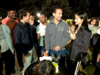 On The Sets Of The Movie Student Of The Year 2