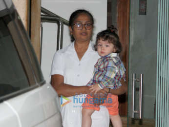 Taimur Ali Khan snapped in Bandra