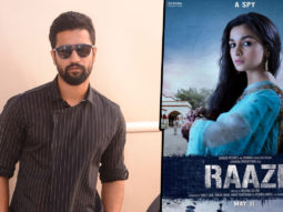 Vicky Kaushal The magic of the story of Raazi is that it… Alia Bhatt Meghna Gulzar